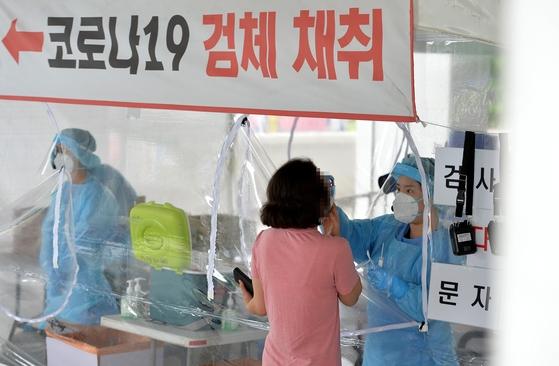 大田(テジョン)中区の新型コロナ選別診療所