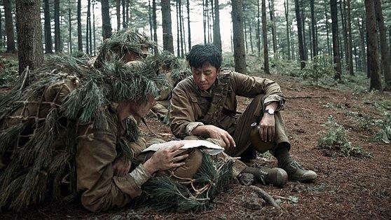 中国映画『金剛川』(韓国題名『1953金城(クムソン)大戦闘』)のスチールカット。[写真 インターネット キャプチャー]