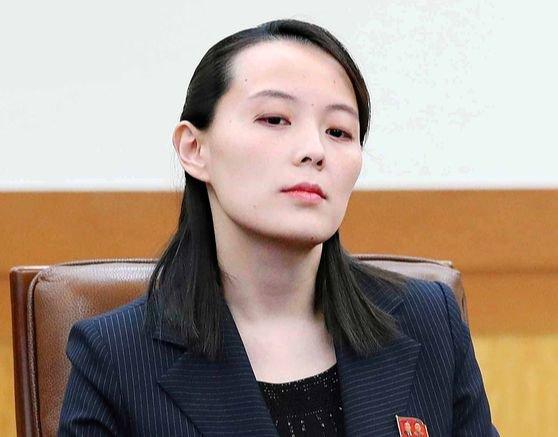 金与正労働党中央委第1副部長[写真 青瓦台写真記者団]