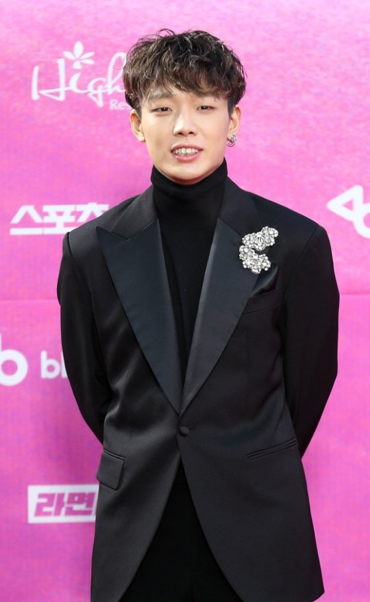 iKONのBOBBY。[写真 韓国日刊スポーツ]