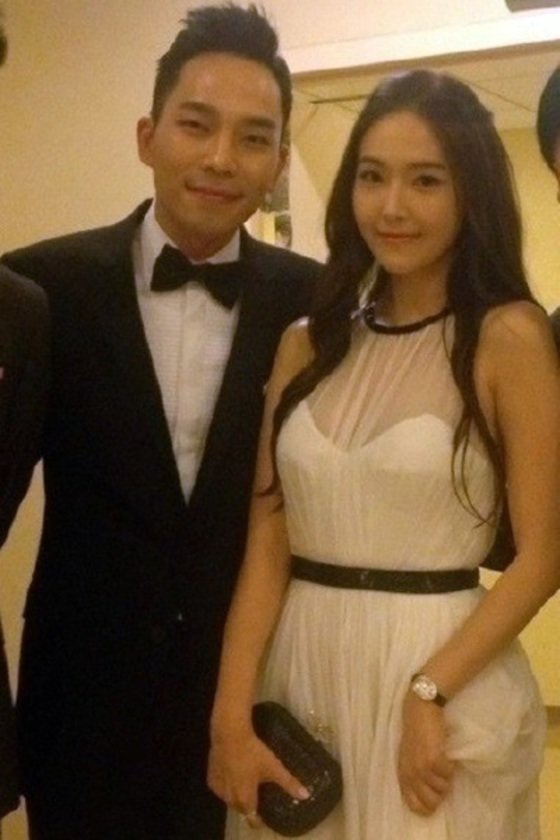 タイラー・クォン氏(左)とジェシカ。[写真 韓国日刊スポーツ]