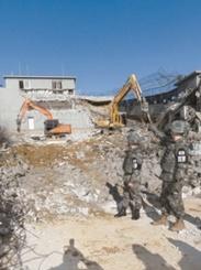 韓国陸軍、GP撤去を開始