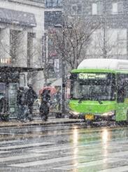 「雨水」に大雪