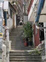 坂と階段の街